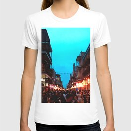 New Orleans Bourbon Street Dusk T-shirt