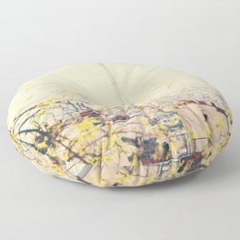 from atop the hill ... Floor Pillow