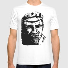 Vladimir Ilyich Lenin MEDIUM Mens Fitted Tee White