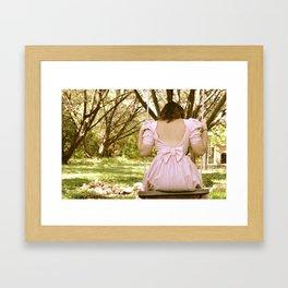 Beautiful Swing Framed Art Print