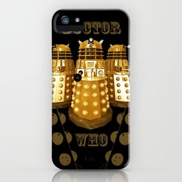 Doctor Who Said Ex iPhone Case