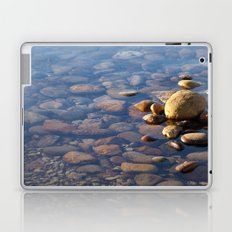 Pebble Stones by the Sea 7738 Laptop & iPad Skin