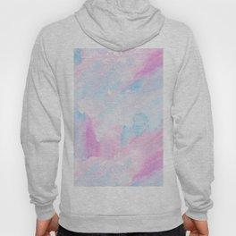 Modern pastel pink teal hand painted watercolor pattern Hoody