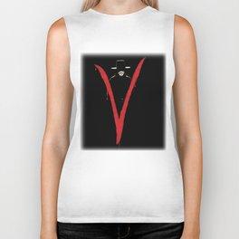 V for Vendett (e6) Biker Tank