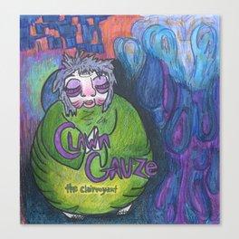 Clawn Gauze Canvas Print