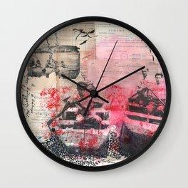 Rowers Wall Clock
