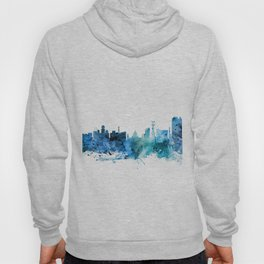 Calcutta (Kolkata) India Skyline Hoody