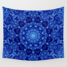 Ocean of Light Mandala Wall Tapestry