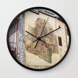 Como Mural, Italy Wall Clock