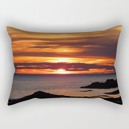 Sunrise Flight  Rectangular Pillow