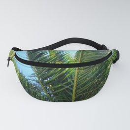 Palm Wave Fanny Pack