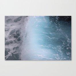 Calm crash Canvas Print