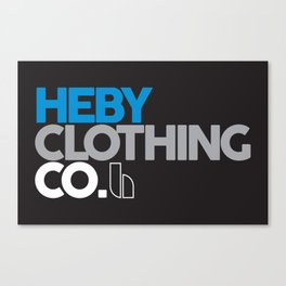 Heby Clothing Co Coco Canvas Print