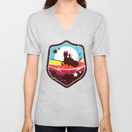 DELIVERY WITCH Unisex V-Neck