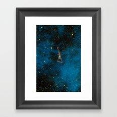 Starsboarding! Framed Art Print