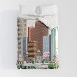 Denver Skyline Comforters