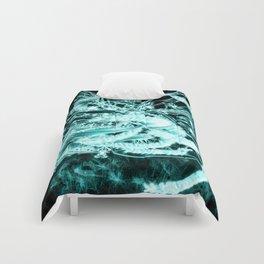 abstract butterflies and wattle bouquet Comforters
