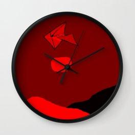 Hang Glider Wall Clock