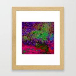 Random Colors Framed Art Print