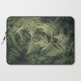SHADED GREEN FERN Laptop Sleeve