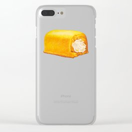Twinkie Pattern Clear iPhone Case