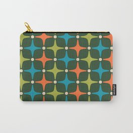 Mid Century Modern Star Pattern 934 Carry-All Pouch