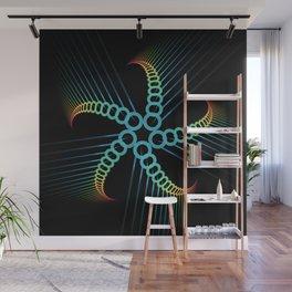 Mutating Star Wall Mural