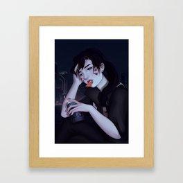 """D.Va - """"Snack Break"""" Framed Art Print"""