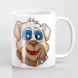 bulldog face. Coffee Mug