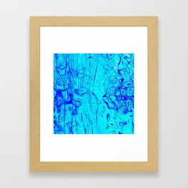 Abstract Oil on Water Framed Art Print