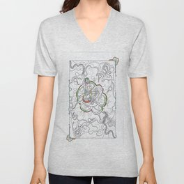 The Gathering Of The Clan 3  Unisex V-Neck