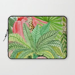 Leaves, Jungle, Snake Laptop Sleeve