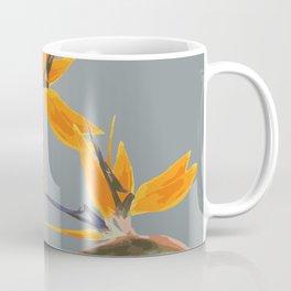 Strelizia - Bird of Paradise Flowers Coffee Mug
