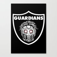 guardians Canvas Prints featuring Guardians  by Buby87