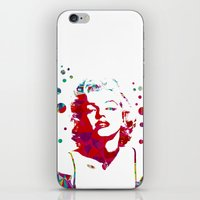 monroe iPhone & iPod Skins featuring MONROE by Bianca Lopomo
