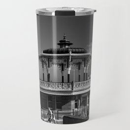 Victorian Bandstand at Brighton Beach Travel Mug