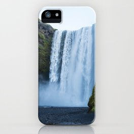 Skogafoss iPhone Case