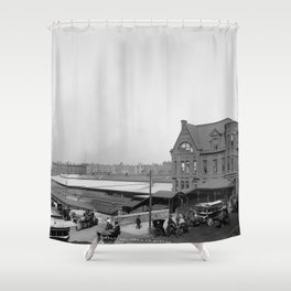 Chicago and North Western Railway Station, Chicago, Illinois Shower Curtain