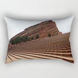 Red Rocks Rectangular Pillow