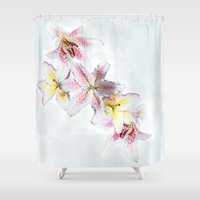 kafka Shower Curtains featuring Medley by anipani