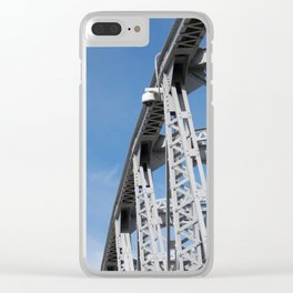 Span of Time Clear iPhone Case