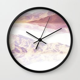 Desert Reflections Wall Clock
