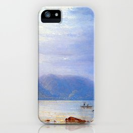 Carl Morgenstern Midday Sun at St. Goarshausen iPhone Case