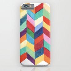 Rainbow Chevron Slim Case iPhone 6s