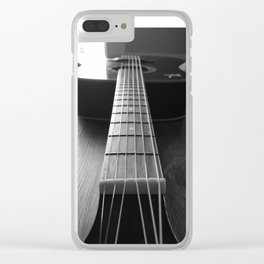 Guritar neck Clear iPhone Case