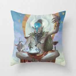 The Dreamteller of Innerpeace Throw Pillow