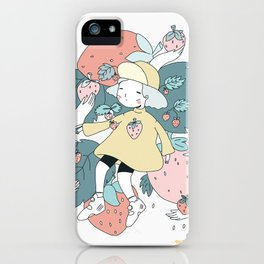 WAITING FOR BETTER THINGS iPhone Case