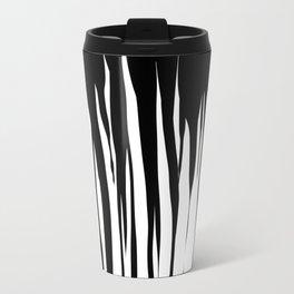 Black Drip Travel Mug