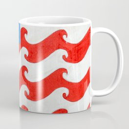 CA 4th of July Coffee Mug
