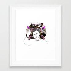 Raf Simons Framed Art Print